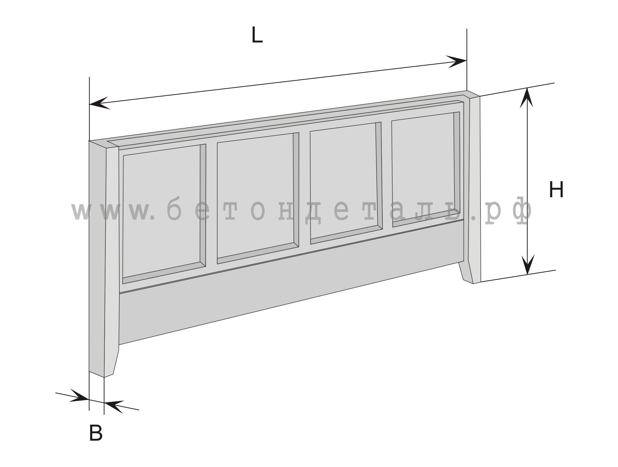 Железобетонная плита 4х2 м сортамент плиты перекрытия железобетонные