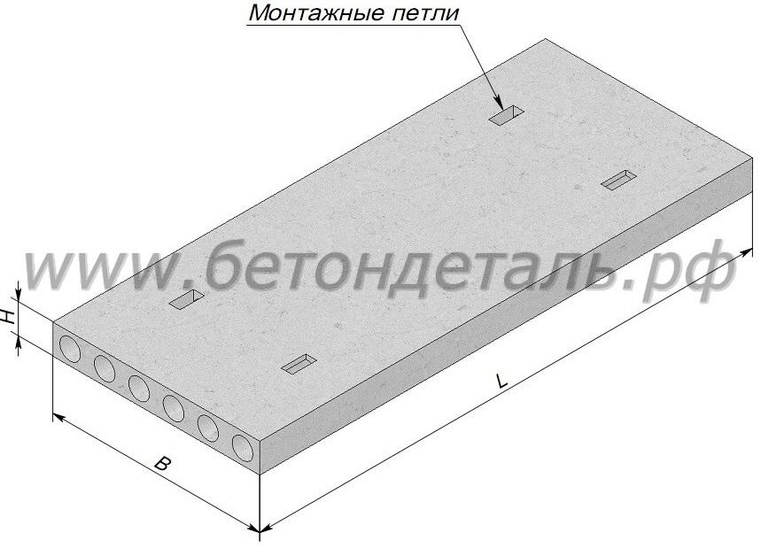 Плиты перекрытия размер томск проект монтажа железобетонных колодцев